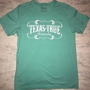 Aqua Texas True Threads Graphic Tee